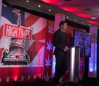 Nic Easley presenting at the 2015 High Times Business Summit in Washington, D.C.