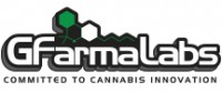 The GFarmaLabs logo, an integral part of their branding, is emblazoned on their packaging.