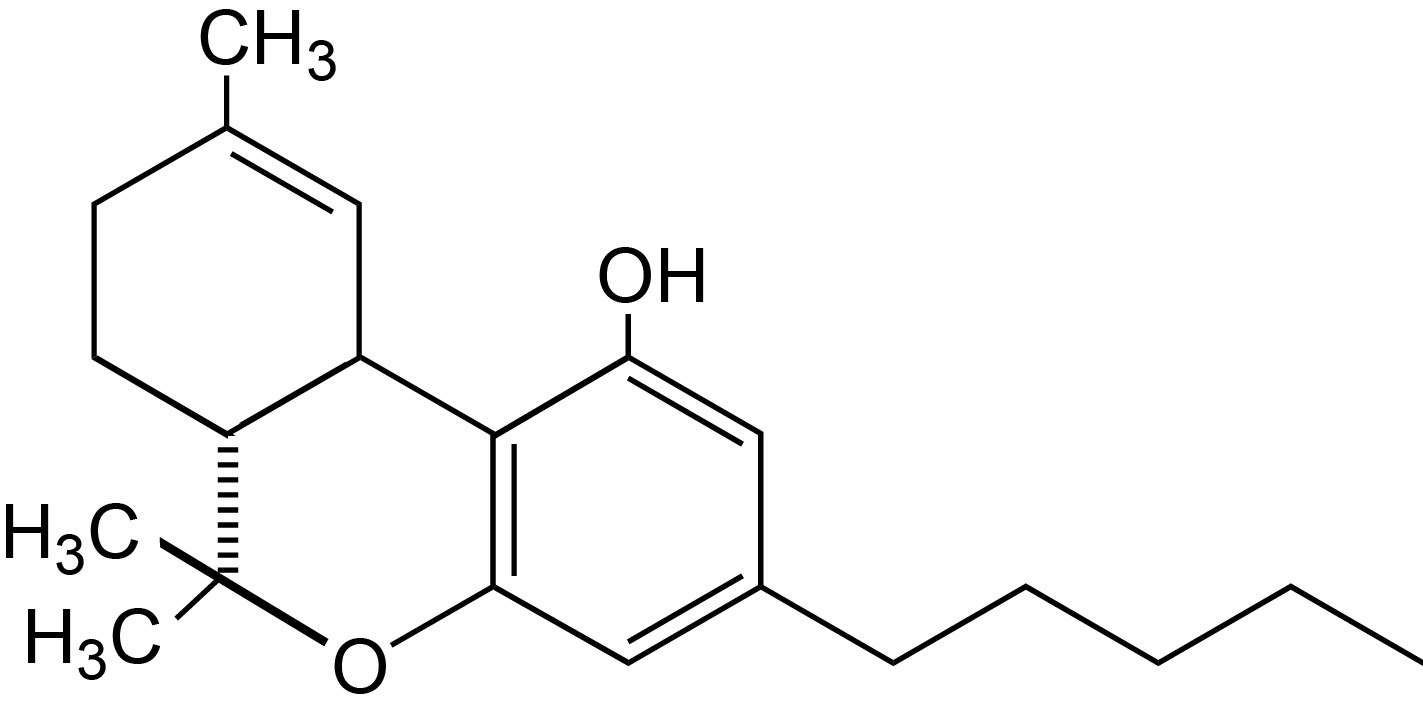 tetrahydrocannabinol thc Δ 9-tetrahydrocannabinol or δ 9-thc is a psychoactive ingredient in marijuana that is known to function as a neuroprotective antioxidant 21.