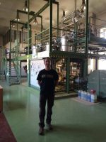 Co-founder Paul Benhaim at their extraction and testing facility in Europe.